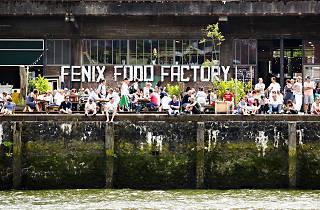Mensen at the Fenix Food Factory, Katendrecht
