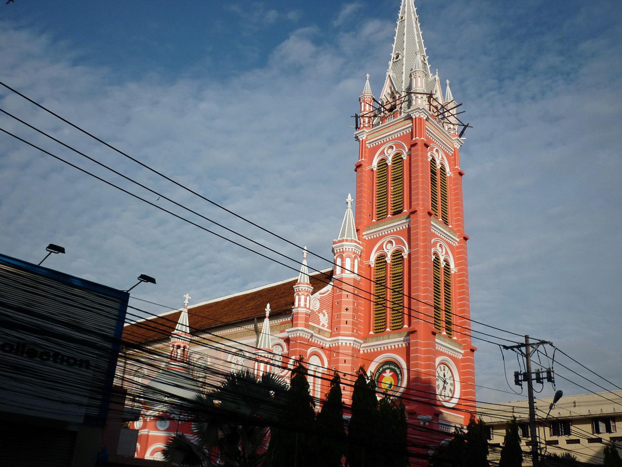 Tan Dinh Church, District 3, Ho Chi Minh City