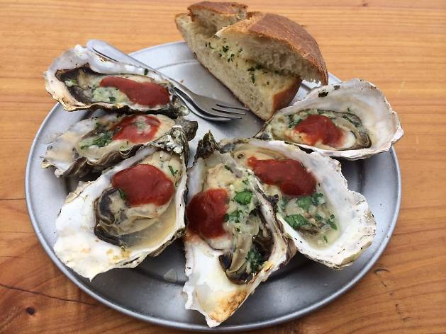 The Marshall Store oysters