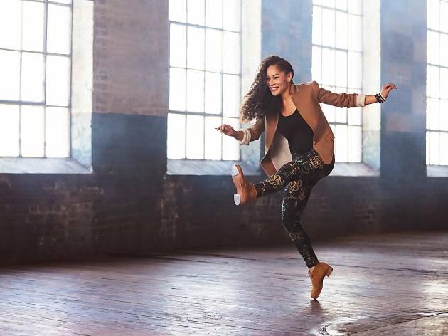Tap dancer Ayodele Casel