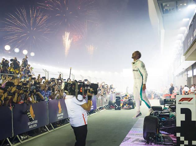 Lewis Hamilton, F1 Singapore Grand Prix