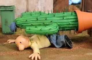 Pat & Mat. El cactus