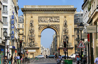 The Porte Saint-Denis in Strasbourg-Saint-Denis, Paris