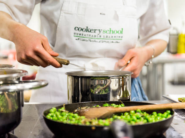 Save £46 off five-hour classes at Cookery School at Little Portland St