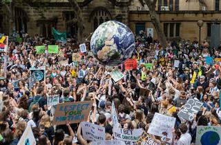 Manifestació pel canvi climàtic
