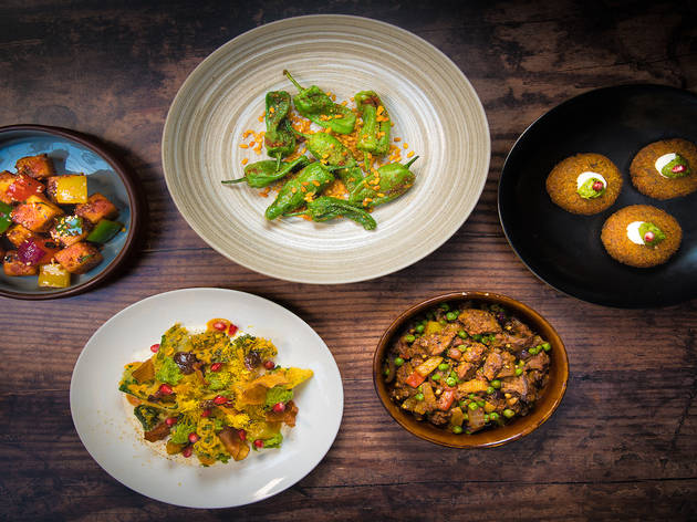 Eight sharing dishes and a cocktail for only £29
