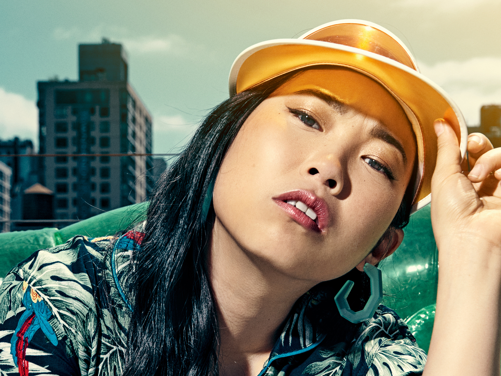 Awkwafina on inclusivity and 'no-bullshit' London