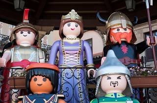Fira de clicks de Playmobil i Lego al Poble Espanyol