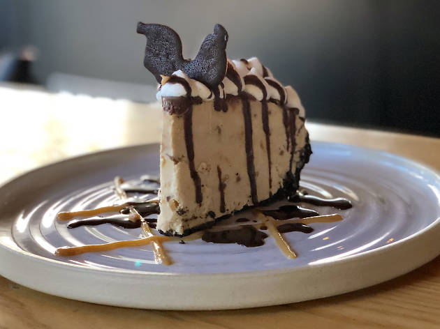 Peanut Butter Ice Cream Pie at Yardbird