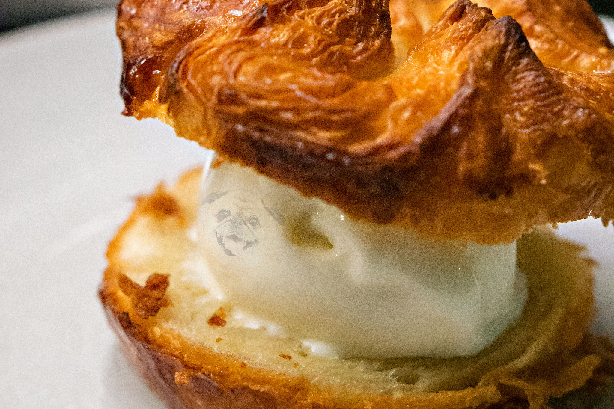 Kouign-Amann Ice Cream Sandwich at Jaguar Sun