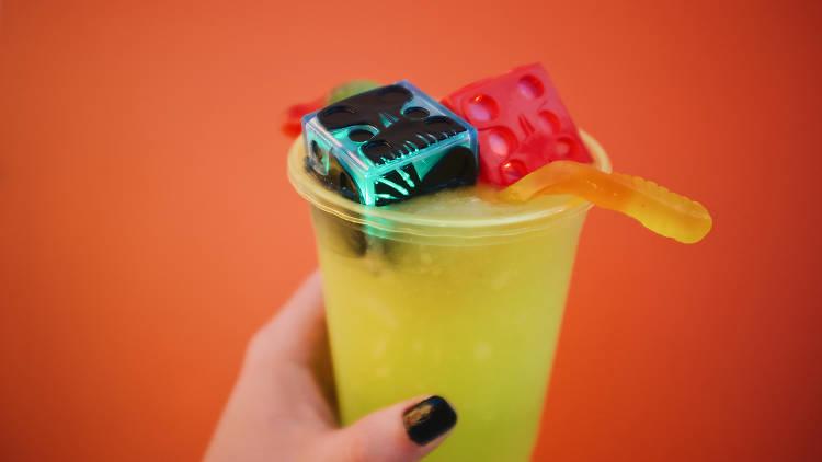 Disneyland Halloween food and drink cocktails Oogie Boogie