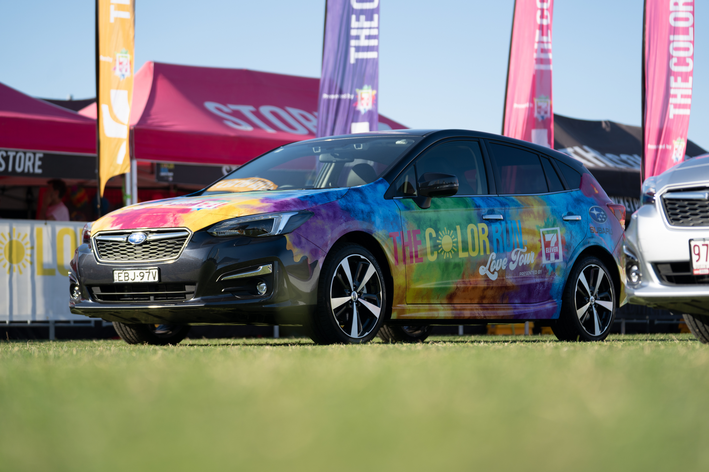 Win tickets to this year's the Color Run Melbourne plus a Subaru Impreza to use for the weekend