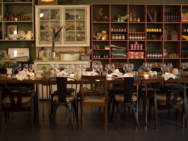 The Kitchen restaurant interior in Cape Town