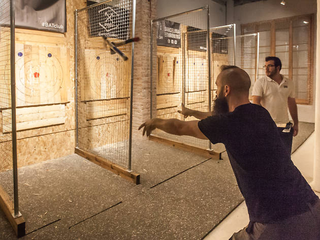 Barcelona Axe Throwing 2019