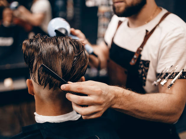 £12 for a men's haircut at City Hairdressers