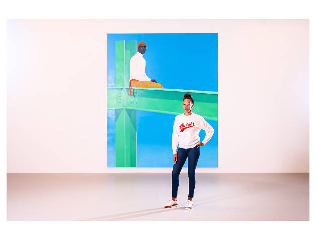 Amy Sherald paints the anonymous and the famous