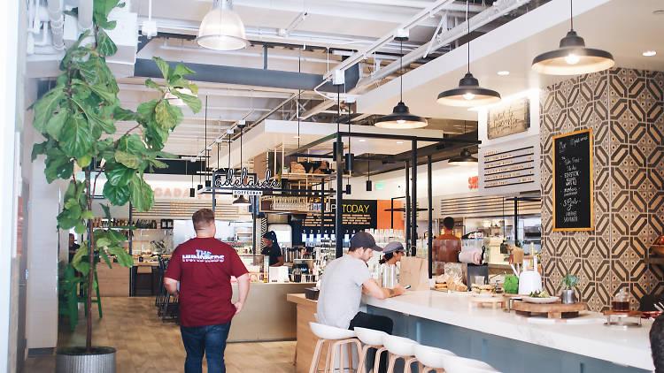 Gallery Food Hall Third Street Promenade Santa Monica Social Eats