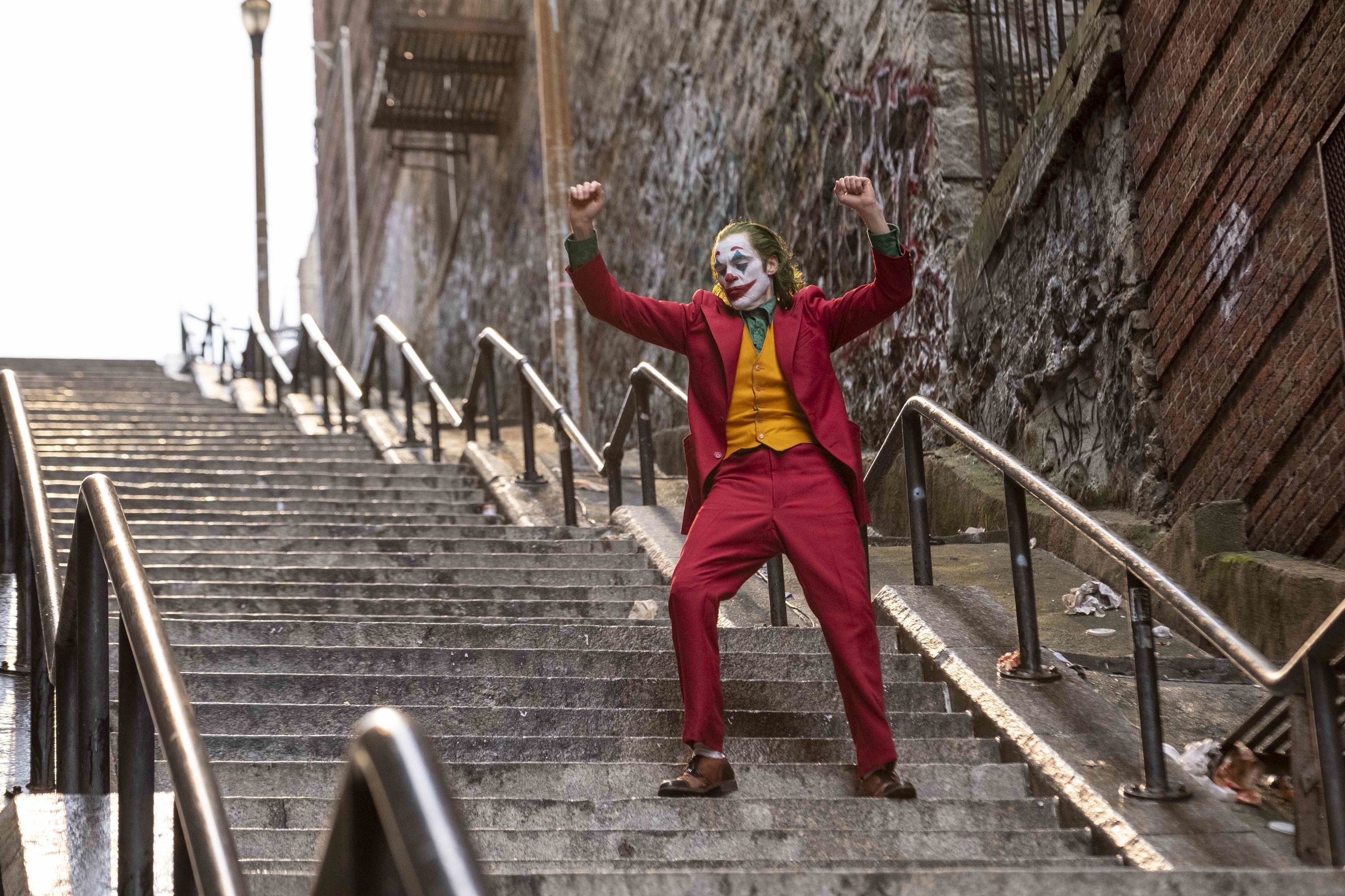 Joker fans, here's where you can go dance on those steps in the movie