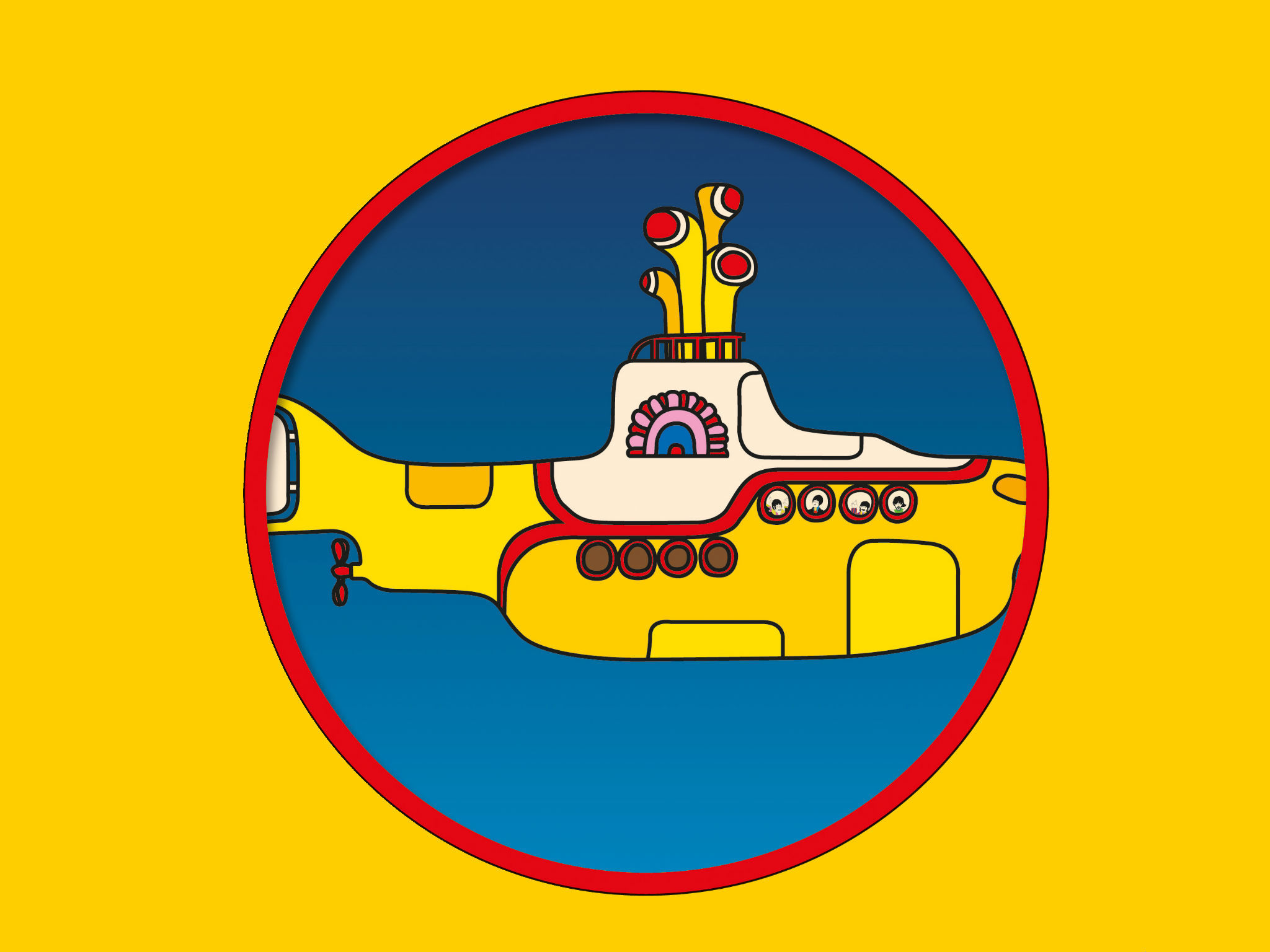 Yellow Submarine con orquesta en vivo