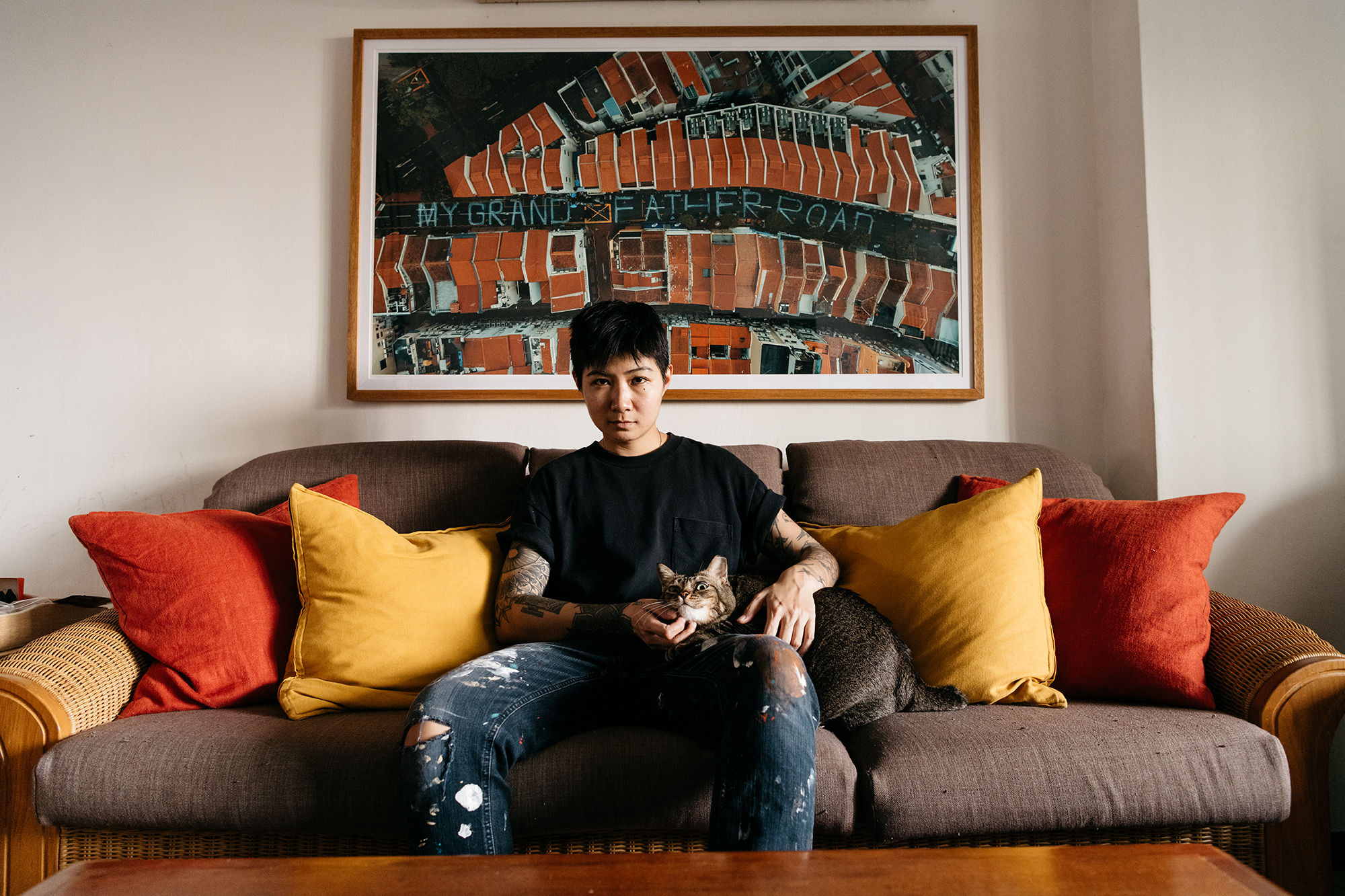 Artist Sam Lo's thoughts on Singapore's contemporary art scene