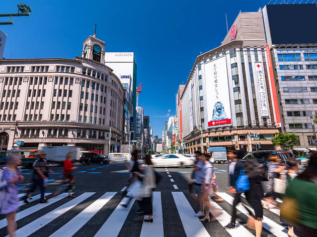 Tokyo shop and department store opening hours  – updated