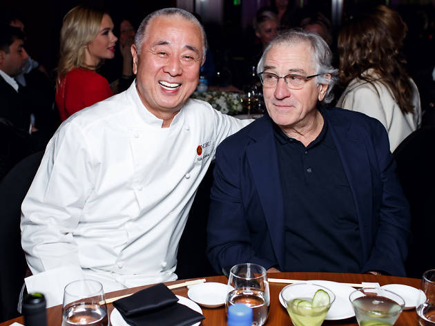 Matsuhisa i Robert De Niro