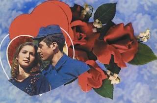 Nur Koçak, Müdahale Edilmiş Kartpostallar serisinden bir kartpostal, 1981 Sanatçının izniyle