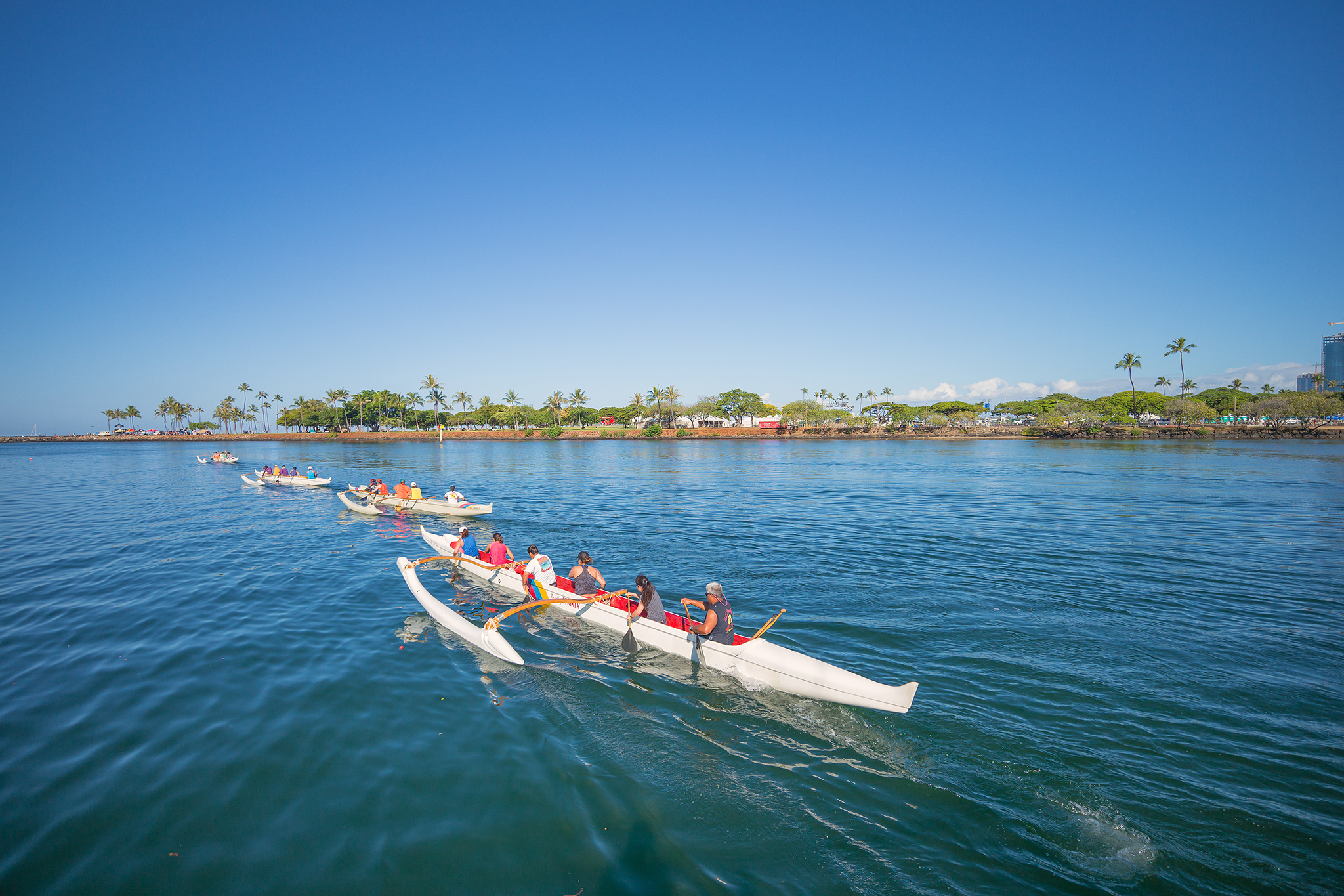 Waʻa Paddle Tour