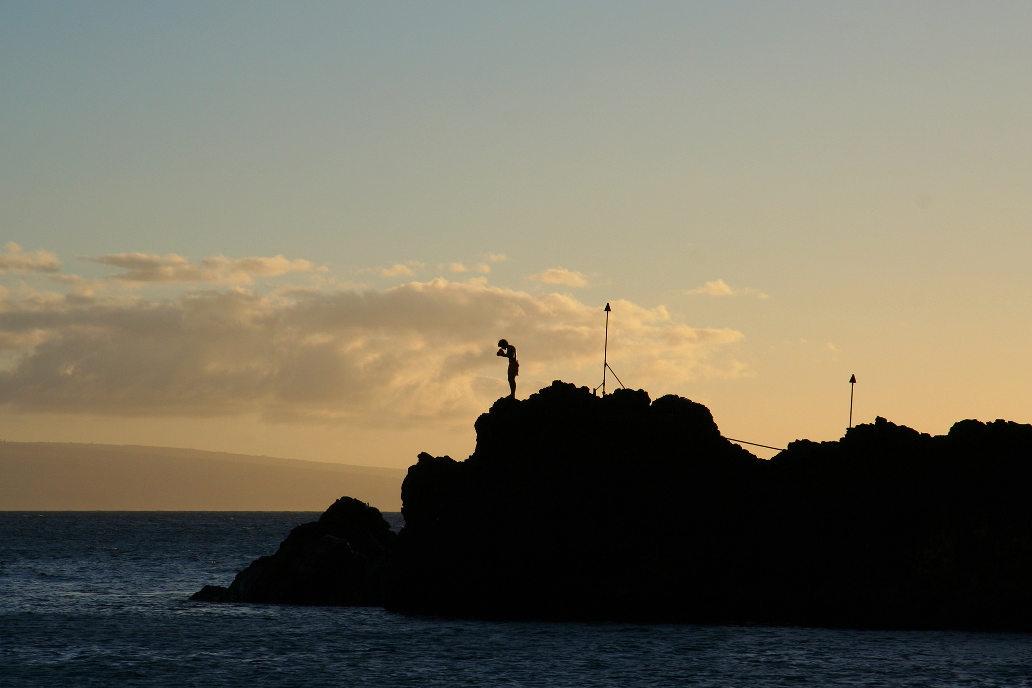 Black Rock Cliff Dive
