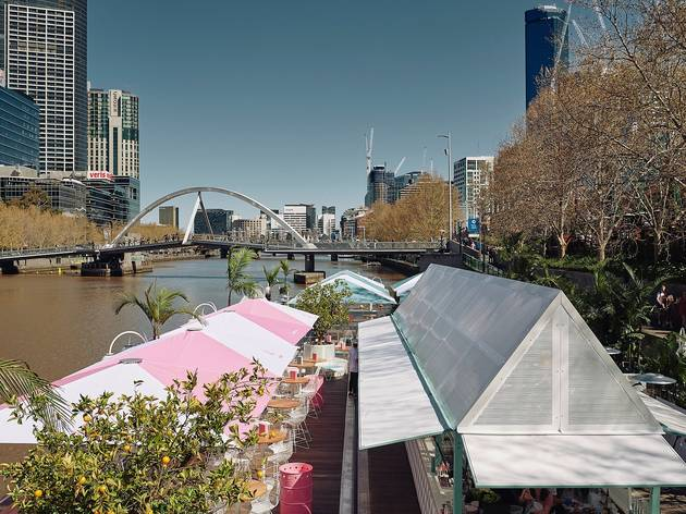 Yarra River at Arbory Afloat