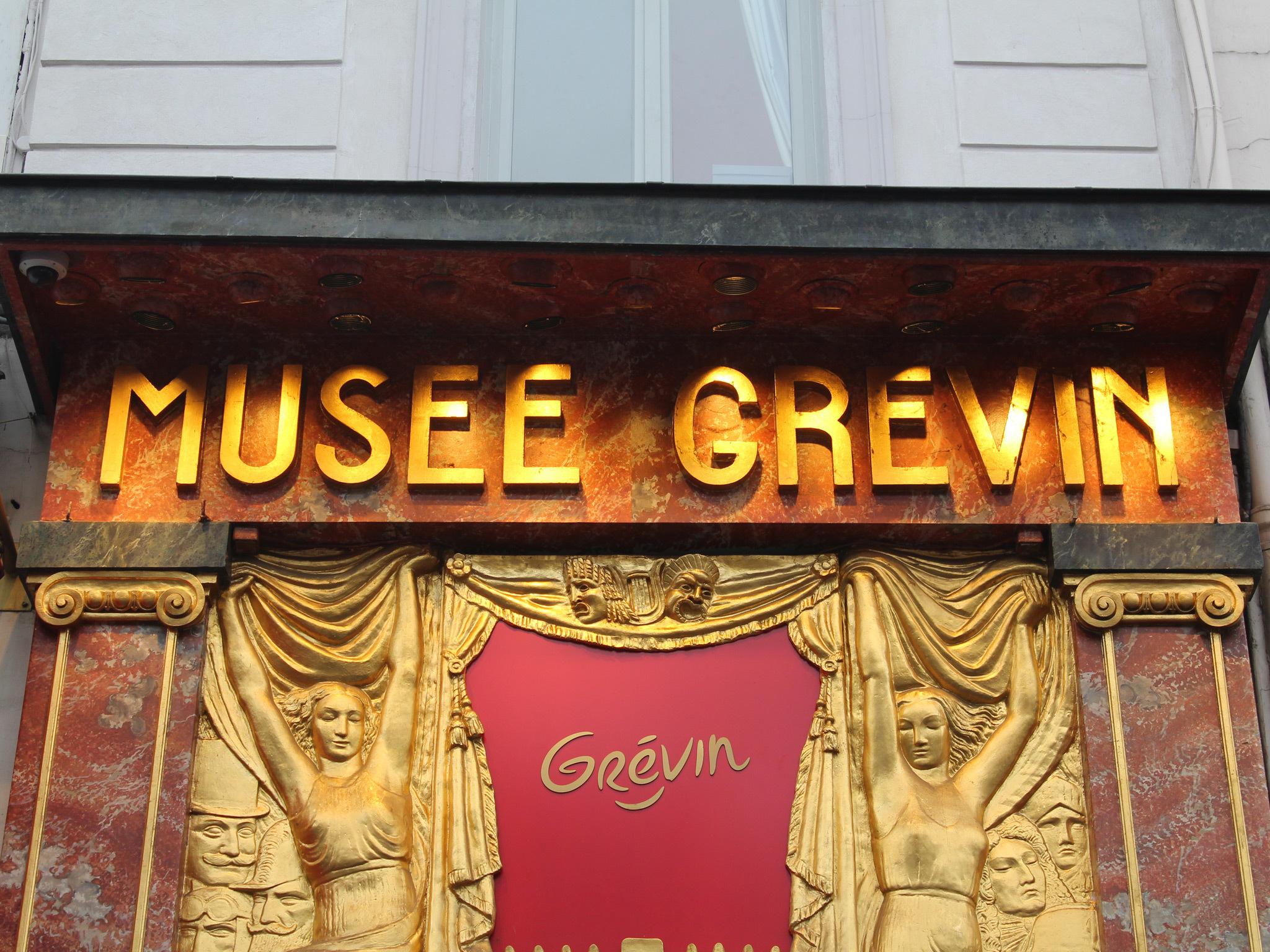 Musée Grevin waxwork museum in Paris