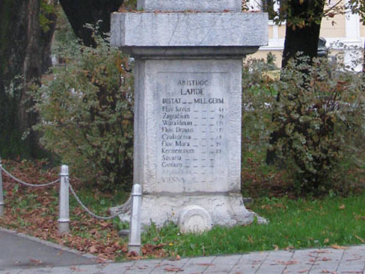 Measure destinations from Karlovac – in old Germanic miles