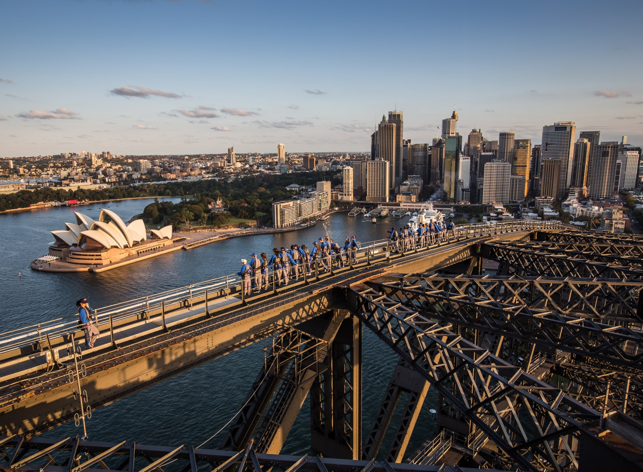 You can watch a music gig on top of the Sydney Harbour Bridge next week