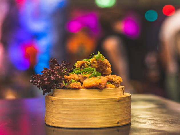 A seven-course tasting menu and a drink at Banh Bao Brothers