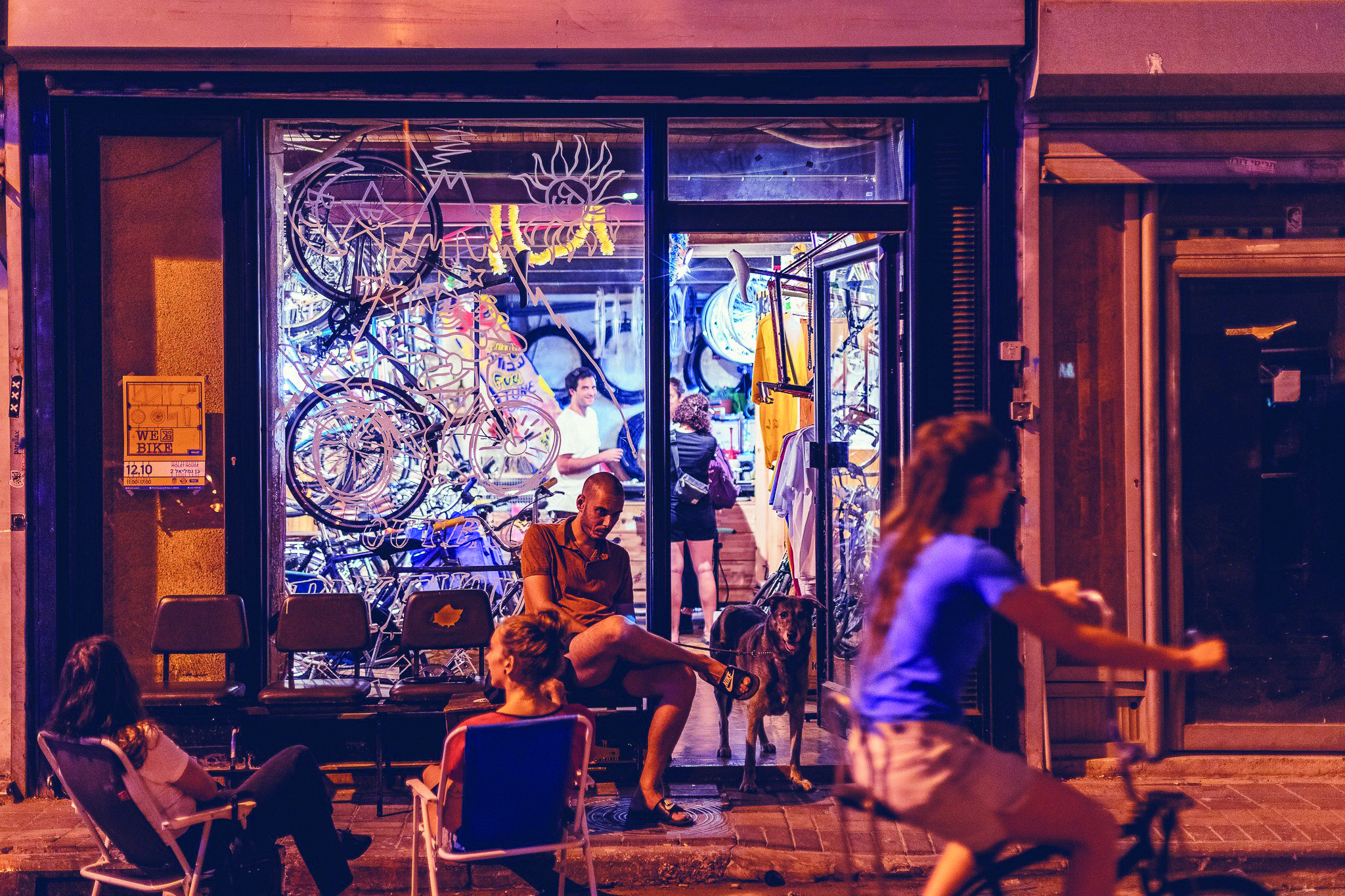 The Best Two-in-One Bike and Coffee Shops in Tel Aviv