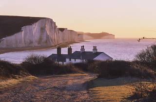 The Seven Sisters coastline for Escapes 2549