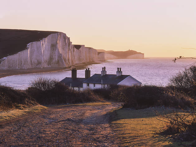 The Seven Sisters coastline for Escapes 2549