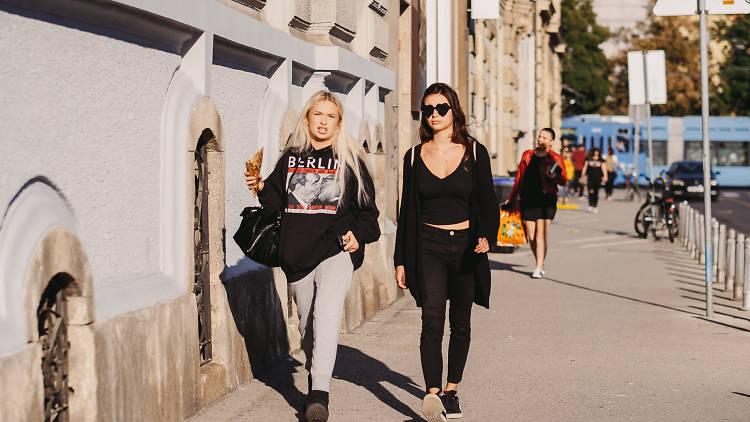 Fashionable Zagreb