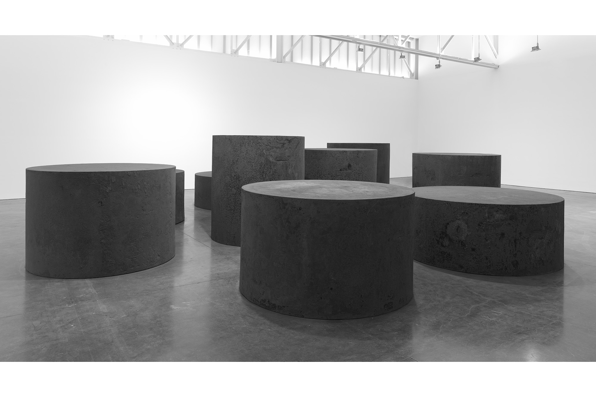 Richard Serra, Nine, 2019