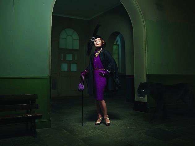 Lesley Manville, The Visit, Tony Kushner, National Theatre