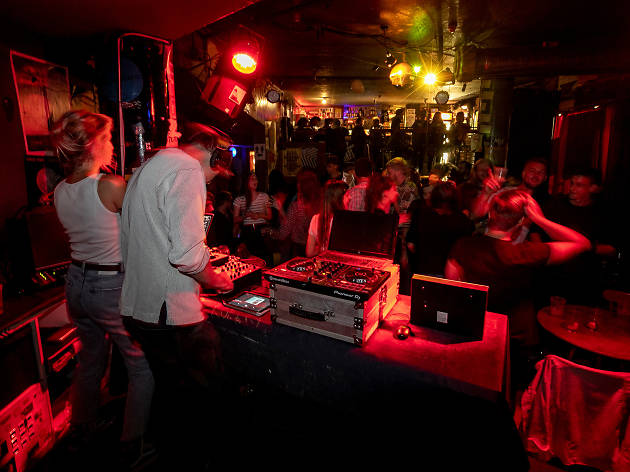 DJs at Beat on the Brat in Budapest