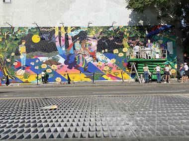 Bowery wall's newest street art mural celebrates global culture in NYC