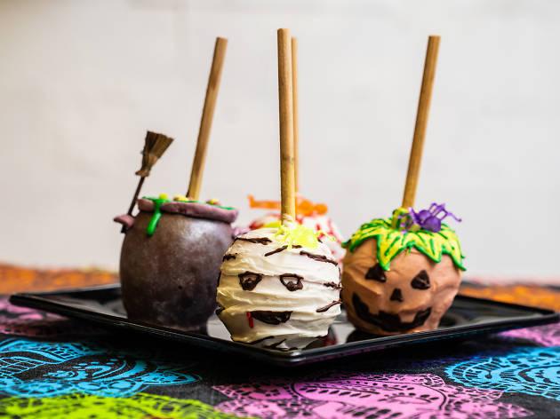 Morticia's Diner postres de halloween en cdmx