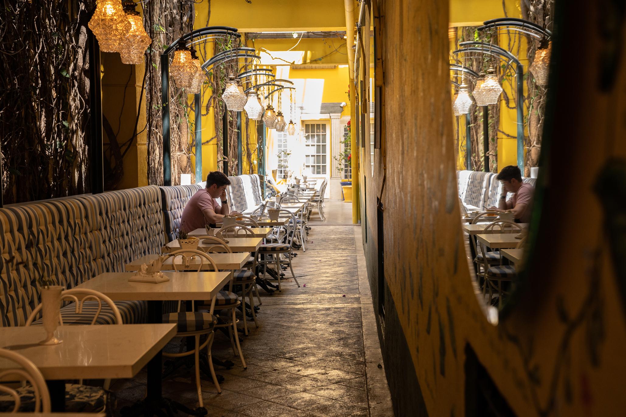 Tres Abejas, la cafetería del Museo Casa Guillermo Tovar de Teresa