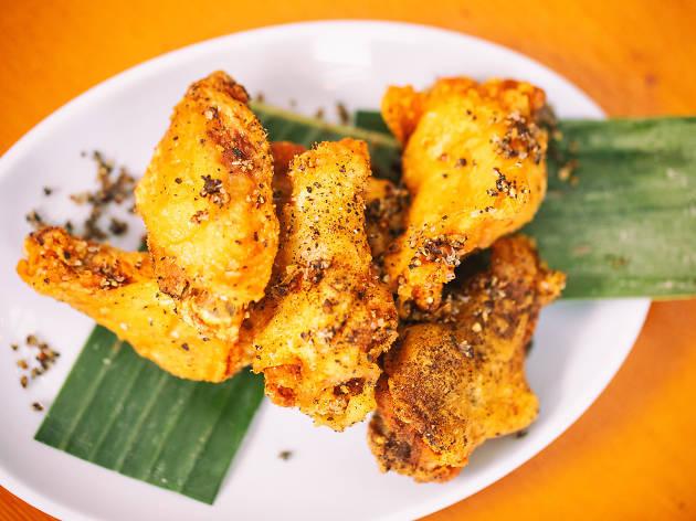 Fried Chicken, Nyum Bai