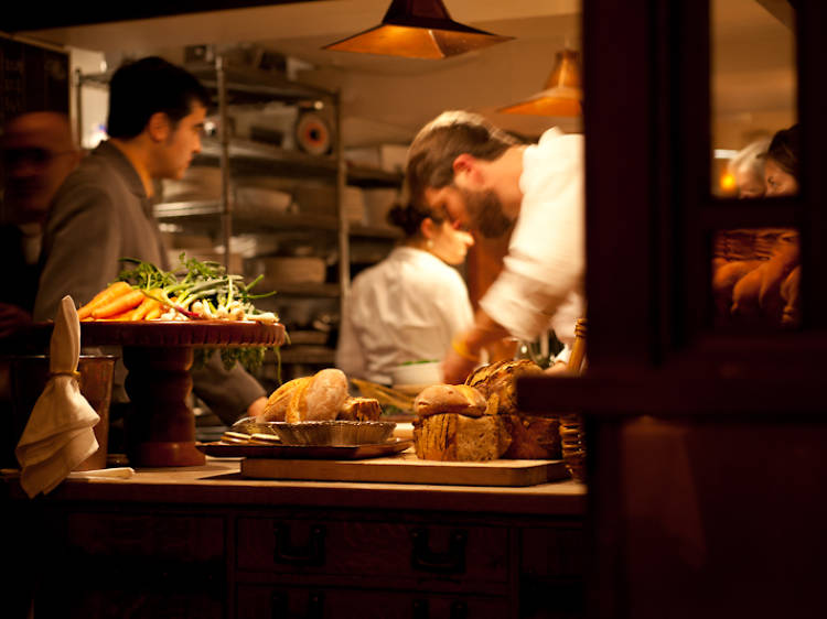 Gorge at Cheese Board and Chez Panisse