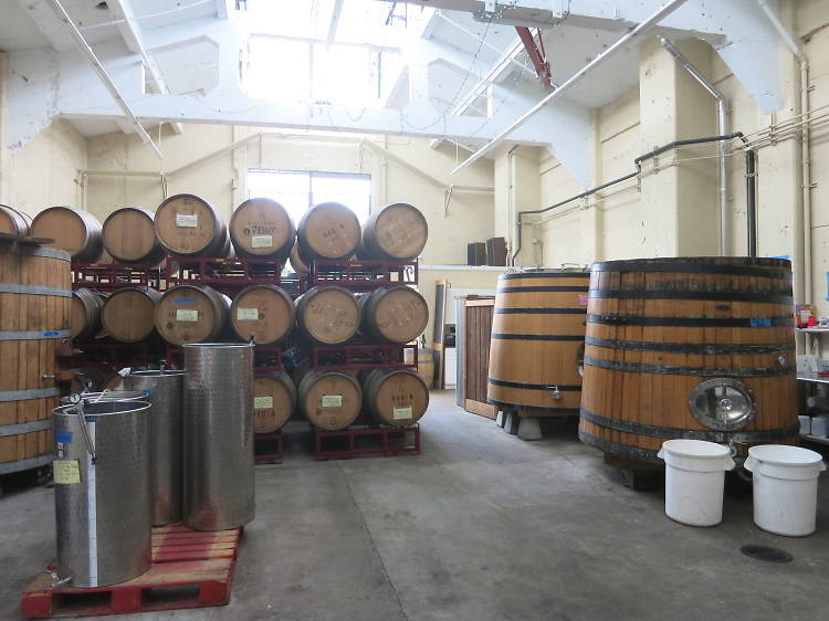 Sip a glass at Donkey & Goat Winery