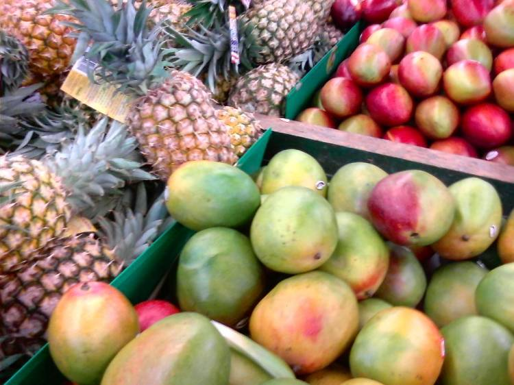Shop fresh produce at Berkeley Bowl