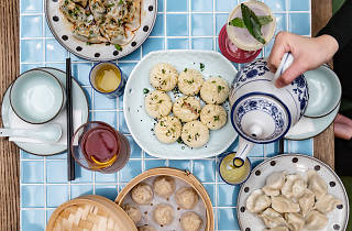 Dumplings at Cabramatta Hotel