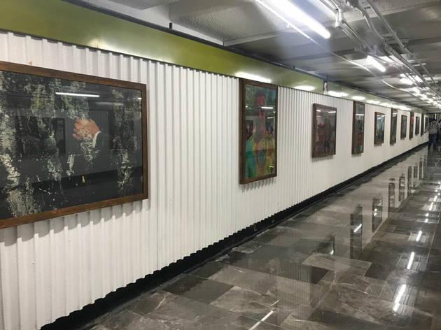 Galería Pública Involuntary  (Foto: Cortesía STC Metro)